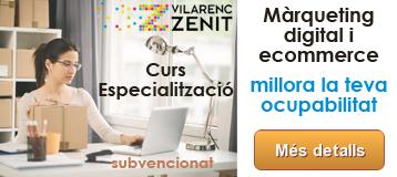 Curs Especialització Màrqueting Digital i Ecommerce